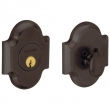 Baldwin<br />8252.112 - ARCHED DEADBOLT FOR 2 1/8&quot; DOOR PREP - VENETIAN BRONZE