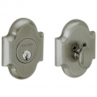 Baldwin<br />8252.151 - ARCHED DEADBOLT FOR 2 1/8&quot; DOOR PREP - ANTIQUE NICKEL
