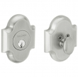 Baldwin<br />8252.264 - ARCHED DEADBOLT FOR 2 1/8&quot; DOOR PREP - SATIN CHROME