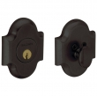 Baldwin<br />8252.402 - ARCHED DEADBOLT FOR 2 1/8&quot; DOOR PREP - DISTRESSED OIL RUBBED BRONZE