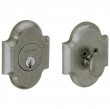 Baldwin<br />8252.452 - ARCHED DEADBOLT FOR 2 1/8&quot; DOOR PREP - DISTRESSED ANTIQUE NICKEL