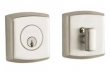 Baldwin<br />8285.150 Single Cylinder Deadbolt IN STOCK  - SOHO DEADBOLT FOR 2 1/8&quot; DOOR PREP - SATIN NICKEL