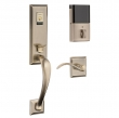 Baldwin<br />85352 BLFD - Evolved Cody 3/4 Escutcheon Full Dummy Set with Interior Lever - Left Hand