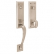 Baldwin<br />85352.056 - CODY 3/4 EMERGENCY EGRESS HANDLESET - LIFETIME SATIN NICKEL