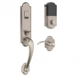 Baldwin<br />85354 BRFD - Evolved Boulder 3/4 Escutcheon Full Dummy Set with Interior Lever - Right Hand