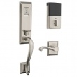 Baldwin<br />85355 BLFD - Evolved Stonegate Full Dummy Set with Interior Lever - Left Hand