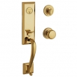 Baldwin<br />85375.003 - GLENNON HANDLESET TRIM - LIFETIME POLISHED BRASS