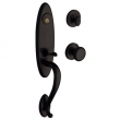 Baldwin<br />85380.402 - BUCKINGHAM HANDLESET TRIM - DISTRESSED OIL RUBBED BRONZE
