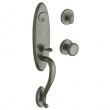 Baldwin<br />85380.452 - BUCKINGHAM HANDLESET TRIM - DISTRESSED ANTIQUE NICKEL
