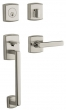 SOHO SECTIONAL HANDLESET - LIFETIME POLISHED NICKEL