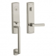 SOHO ESCUTCHEON - MORTISE ENTRY - LIFETIME POLISHED NICKEL