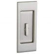 Baldwin<br />PD006 KT Interior Plate Only, No lock included - Santa Monica Interior Trim With Turn Knob Sliding Pocket Door - Small