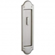 Baldwin<br />PD016 KT Interior Plate Only, No lock included  - Boulder Interior Trim ONLY  With Turn Knob Sliding Pocket Door