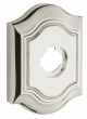 "Baldwin<br />R027.055 - 3"" BETHPAGE ROSE - LIFETIME POLISHED NICKEL"