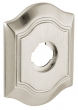 "Baldwin<br />R027.056 - 3"" BETHPAGE ROSE - LIFETIME SATIN NICKEL"