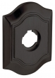 "Baldwin<br />R027.102 - 3"" BETHPAGE ROSE - OIL RUBBED BRONZE"