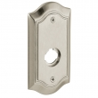 "Baldwin<br />R028.056 - 5"" BETHPAGE ROSE - LIFETIME SATIN NICKEL"