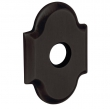"Baldwin<br />R030.402 - 3"" ARCHED ROSE - DISTRESSED OIL RUBBED BRONZE"