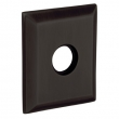 "Baldwin<br />R033.102 - 3"" SQUARED ROSE - OIL RUBBED BRONZE"