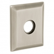 "Baldwin<br />R033.150 - 3"" SQUARED ROSE - SATIN NICKEL"