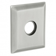 "Baldwin<br />R033.264 - 3"" SQUARED ROSE - SATIN CHROME"