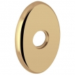 "Baldwin<br />R039.003 - 3"" OVAL ROSE - LIFETIME POLISHED BRASS"