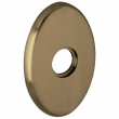 "Baldwin<br />R039.050 - 3"" OVAL ROSE - SATIN BRASS & BLACK"