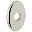 "Baldwin<br />R039.055 - 3"" OVAL ROSE - LIFETIME POLISHED NICKEL"