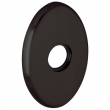 "Baldwin<br />R039.102 - 3"" OVAL ROSE - OIL RUBBED BRONZE"