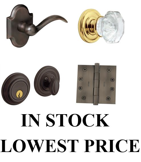 Baldwin Estate In Stock Lever Sets Preconfigured Hinges Deadbolts Hardware
