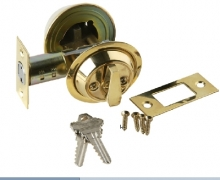 Brass Accents D09-D0050 Brass Accents 2 inch Backset Single Cylinder ...