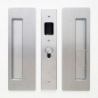 "Cavilock<br />CL400B0131 - Cavity Sliders Magnetic Privacy Pocket Door Set, Blank/Snib RH (Right Hand), Satin Chrome, for 1 3/4"" Door Thickness"