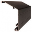 Cavilock<br />ZAA046 - Cavity Sliders WallMount Track Fascia Bronze Anodized (Custom)