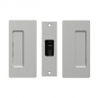 Cavilock<br />CL205A0001 - Passage Pocket Door Set, Non-Magnetic, Satin Chrome, for 1-3/8&quot; Door Thickness