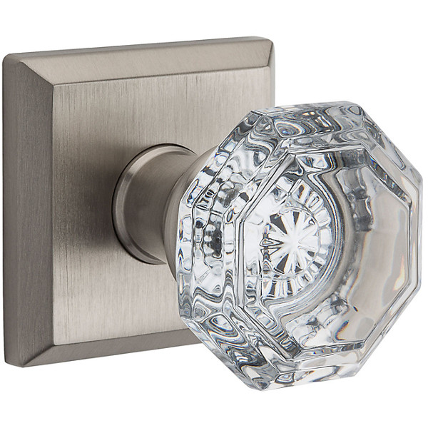Traditional Crystal Knob <br>$87.03 Pass-Priv-FD