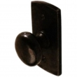 "Ashley Norton<br />CV.113 - 1-1/2"" Round Knob on Curved Backplate"