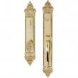 Brass Accents<br />D04-H660 - L'Enfant Collection Single/Double Deadbolt Set