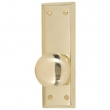 Brass Accents<br />D07-K539 - Quaker Collection Privacy Interior Set