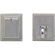 "Rocky Mountain Hardware<br />DB312  - Entry Single Cylinder/Dead Bolt - 2-1/2"" x 3-1/8"" Stepped Escutcheons"
