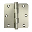 Deltana<br />DSB35R4 SOLID BRASS DOOR HINGES - 3.5&quot; x 3.5&quot; HEAVY DUTY 1/4&quot; RADIUS CORNER DELTANA DOOR HINGE PAIR