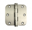 Deltana<br />DSB35R5 SOLID BRASS DOOR HINGES - 3.5&quot; x 3.5&quot; HEAVY DUTY 5/8&quot; RADIUS CORNER DELTANA DOOR HINGE PAIR