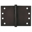 Deltana<br />DSB406010B Deltana Solid Brass Door Hinge - 4&quot; x 6&quot; HEAVY DUTY SQUARE DELTANA DOOR HINGE PAIR