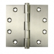 Deltana<br />DSB45NB Deltana Solid Brass Door Hinges - 4.5&quot; x 4.5&quot; 4-BALL BEARING NRP SQUARE DELTANA DOOR HINGE PAIR