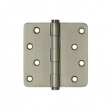 Deltana<br />DSB4R4-RZ SOLID BRASS DOOR HINGES - 4&quot; x 4&quot; RESIDENTIAL 1/4&quot; RADIUS DELTANA SOLID BRASS DOOR HINGE PAIR