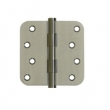 Deltana<br />DSB4R5-RZ SOLID BRASS DOOR HINGES - 4&quot; x 4&quot; RESIDENTIAL 5/8&quot; RADIUS DELTANA SOLID BRASS DOOR HINGE PAIR