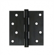 Deltana<br />DSB4x-RZ SOLID BRASS DOOR HINGES - 4&quot; x 4&quot; RESIDENTIAL SQUARE DELTANA DOOR HINGE PAIR