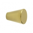 Deltana<br />KC24 - Deltana Solid Brass Cone Cabinet Knob - 1 1/8&quot;