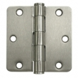 Deltana<br />S35R4HD STEEL DOOR HINGES - 3.5&quot; x 3.5&quot; STEEL HEAVY DUTY 1/4&quot; RADIUS DELTANA DOOR HINGE PAIR