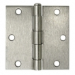 Deltana<br />S35U-R STEEL DOOR HINGES - 3.5&quot; x 3.5&quot; STEEL RESIDENTIAL SQUARE DELTANA DOOR HINGE PAIR