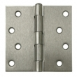 Deltana<br />S44-R STEEL DOOR HINGES - 4&quot; x 4&quot; STEEL RESIDENTIAL SQUARE DELTANA DOOR HINGE PAIR